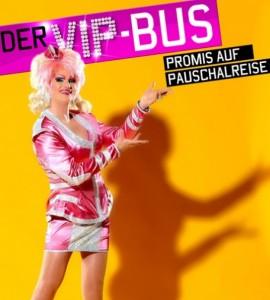 Olivia Jones nimmt Ramona Stöckli mit im VIP Bus