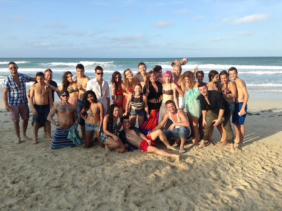 25 DSDS 2014 Kandidaten auf Kuba am Strand