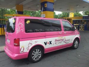 Promi-Shopping-Queen Bus von VOX