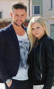 Florian Fesl mit Freundin Julia Schreiner