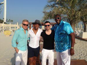 DSDS 2017: Lutz, Ivanildo, Robert und Alphonso in Dubai