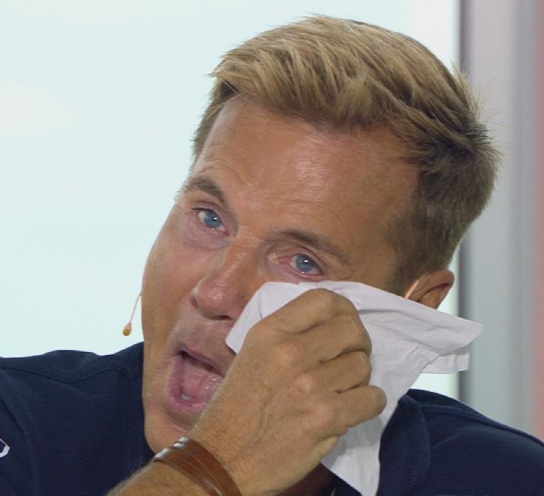 Dieter Bohlen mit Tränen