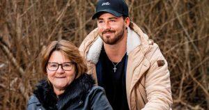 Michel Truog mit Mutter