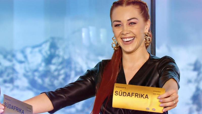 Oana Nechiti mit Südafrika Ticket 2020